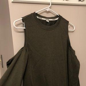 Garage cold shoulder dress